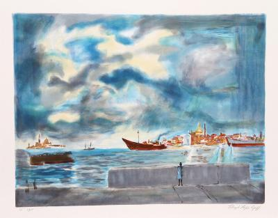 Entrace to Venice-Lloyd Lopez Goff-Collectable Print