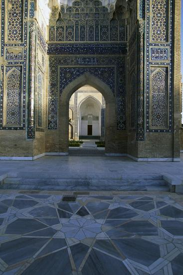Entrance Detail from Gur-E Amir Mausoleum of Tamerlane--Giclee Print