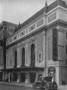 Entrance facade, the Curran Theatre, San Francisco, California, 1925