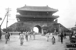 Entrance Gate in Seoul