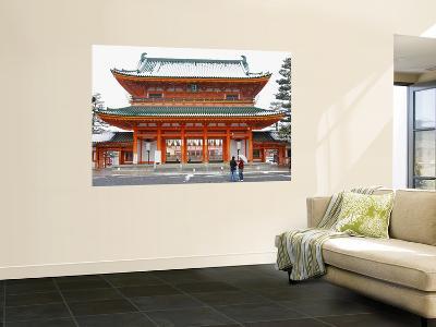 Entrance Gate to Heian Shrine-Frank Carter-Wall Mural