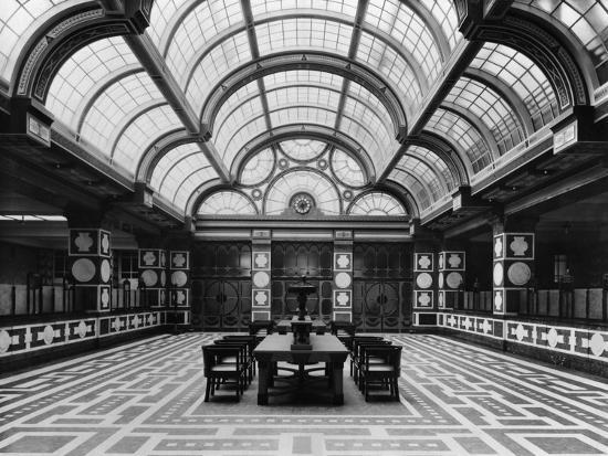 Entrance Hall of the Czechoslovak Legions Bank, Prague, C.1926--Photographic Print