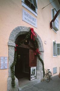 Entrance of a House, Mozart's House, Salzburg, Austria