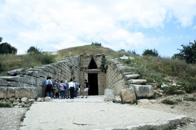 Entrance of a Tumulus at Mycenae, Late Bronze Age, Greece, C1450-C1100 Bc--Photographic Print