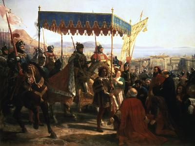 Entrance of Charles VIII into Naples, 12th May 1495--Giclee Print