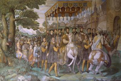 Entrance of Emperor Charles V--Giclee Print