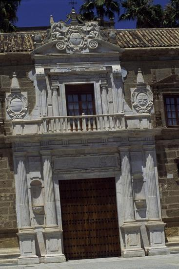 Entrance of Hospital De Las Cinco Llagas, Seville, Andalusia, Spain--Giclee Print