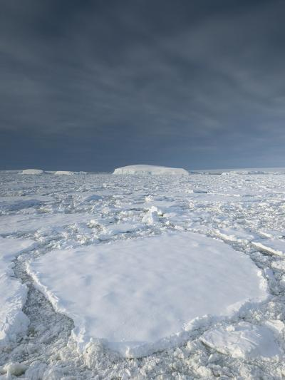 Entrance of the Lemaire Channel Along the Antarctic Peninsula-Jeff Mauritzen-Photographic Print