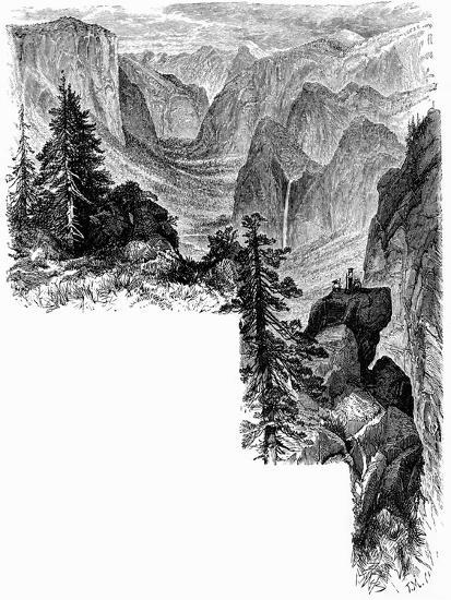 Entrance of Yosemite Valley, California, USA, c1875. Artist: Unknown-Unknown-Giclee Print