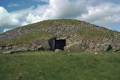 Entrance to Cairn T in the Loughcrew Hills, 35th Century Bc-CM Dixon-Photographic Print
