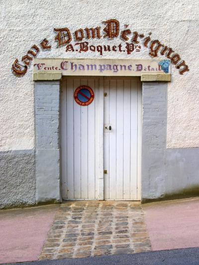 Entrance to Cellar in Cave Dom Perignon, Hautvillers, Vallee De La Marne, Champagne, France-Per Karlsson-Photographic Print