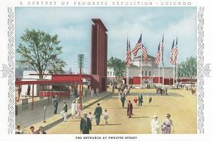 Entrance to Chicago World Fair