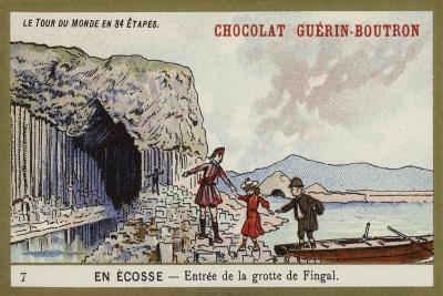 Entrance to Fingal's Cave; Scotland--Giclee Print