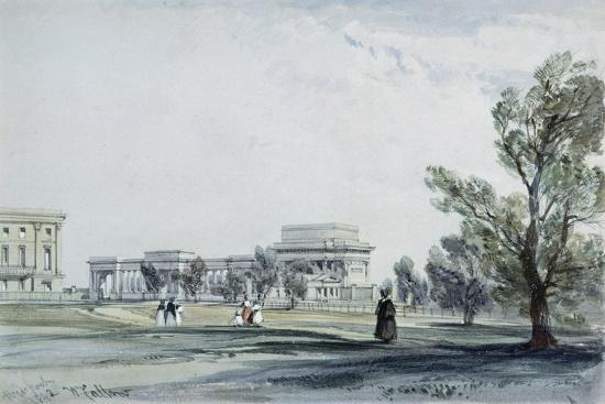 Entrance to Hyde Park at Hyde Park Corner-William Clark-Giclee Print