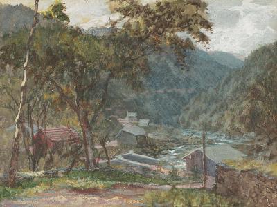 Entrance to Kauterskill Clove-John Frederick Kensett-Giclee Print