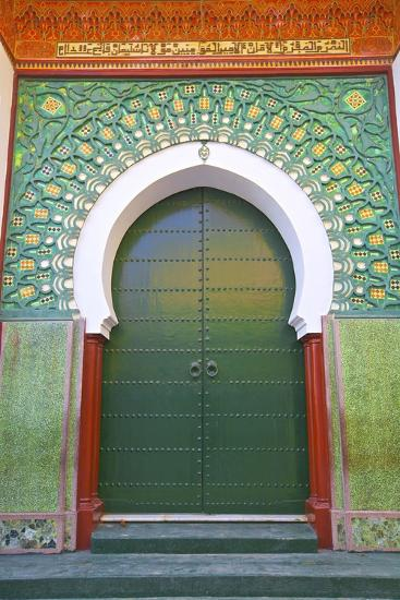 Entrance to Mosque, Tangier, Morocco, North Africa, Africa-Neil Farrin-Photographic Print