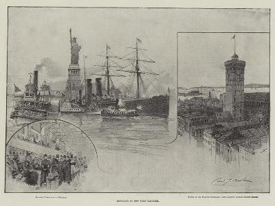 Entrance to New York Harbour--Giclee Print