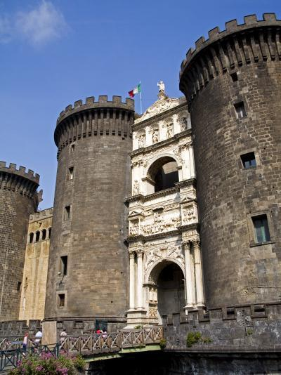Entrance to Nuovo Castle, Naples, Campania, Italy, Europe-Richard Cummins-Photographic Print