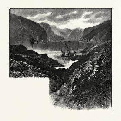 Entrance to Saguenay River, Canada, Nineteenth Century--Giclee Print