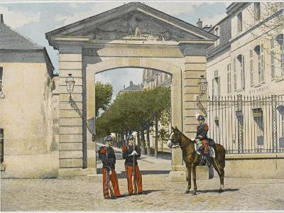 Entrance to Saint-Cyr--Photographic Print