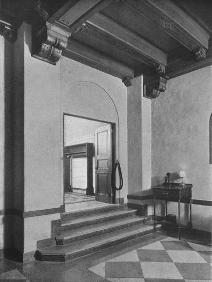 Entrance to south-east dining room, the Fraternity Clubs Building, New York City, 1924-Unknown-Photographic Print