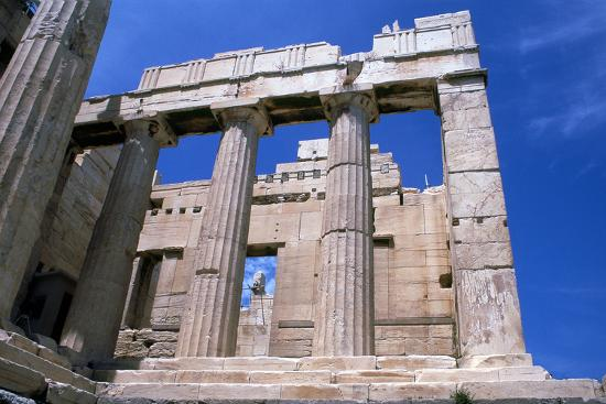 Entrance to the Acropolis, Athens, 5th Century Bc--Photographic Print