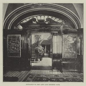 Entrance to the Arts and Letters Club