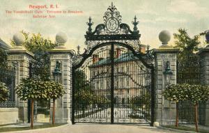 Entrance to the Breakers, Newport, Rhode Island