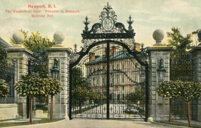 Entrance to the Breakers, Newport, Rhode Island