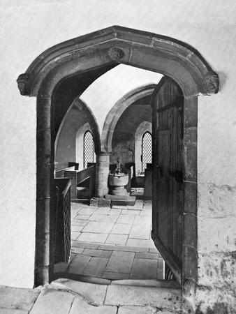 Entrance to the Chapel, Haddon Hall, Derbyshire, 1924-1926--Giclee Print