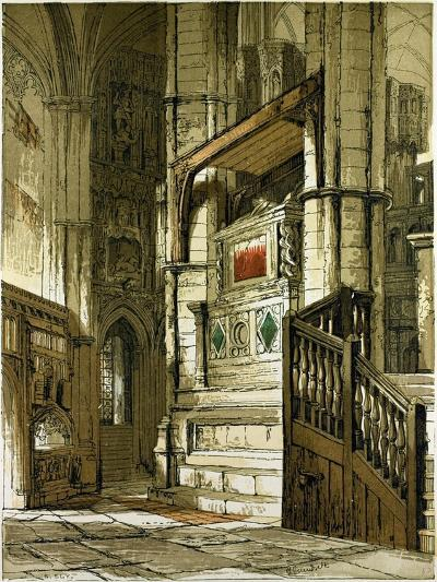Entrance to the Chapel of Edward the Confessor, UK--Giclee Print