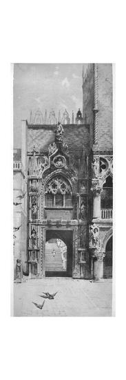 'Entrance to the Doges' Palace', c1870, (1911)-David Law-Giclee Print