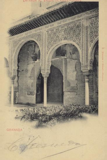 Entrance to the Hall of the Ambassadors, Alhambra, Granada, Spain--Photographic Print