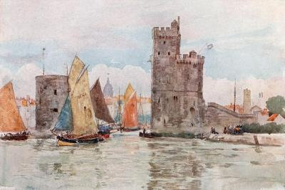 Entrance to the Harbor, La Rochelle-Herbert Menzies Marshall-Giclee Print