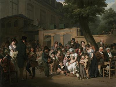 Entrance to the Jardin Turc, 1812-Louis Leopold Boilly-Giclee Print