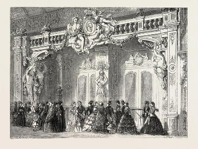 Entrance to the Lounge of the Empress at the Palace of Industry. Paris--Giclee Print