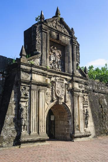 Entrance to the Old Fort Santiago, Intramuros, Manila, Luzon, Philippines, Southeast Asia, Asia-Michael Runkel-Photographic Print