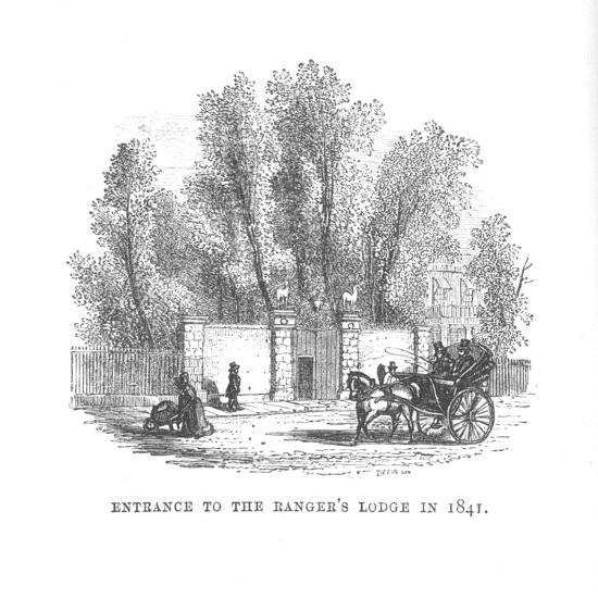 'Entrance to the Ranger's Lodge in 1841', c1870-Unknown-Giclee Print
