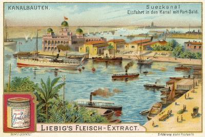 Entrance to the Suez Canal, Port Said, Egypt--Giclee Print