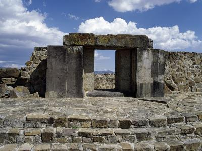 Entrance to Tomb 105, Monte Alban Archaeological Site--Photographic Print