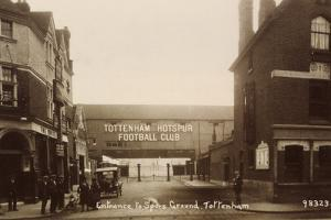 Entrance to Tottenham Hotspur Football Ground, C. 1906