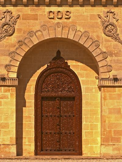 Entrance to Winery at Cos d'Estournel, Oriental Style, Saint St. Estephe, Medoc, Bordeaux, France-Per Karlsson-Photographic Print