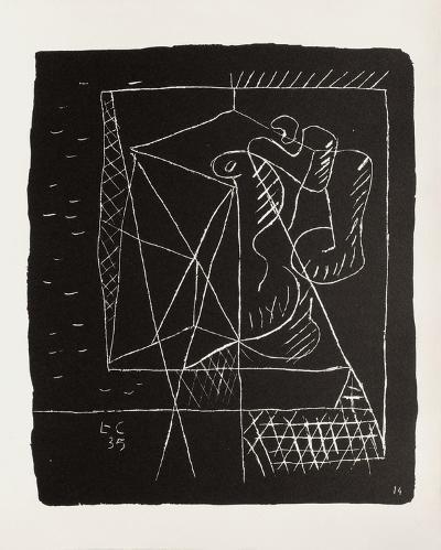 Entre-Deux No. 14-Le Corbusier-Premium Edition