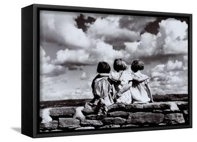 Entre Nous-H^ Armstrong Roberts-Framed Canvas Print