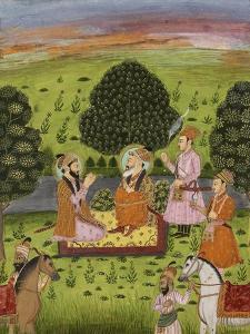 Entrevue de Shah Jahan avec Dara Shekuh