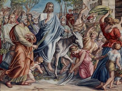 Entry Into Jerusalem-Julius Schnorr von Carolsfeld-Giclee Print