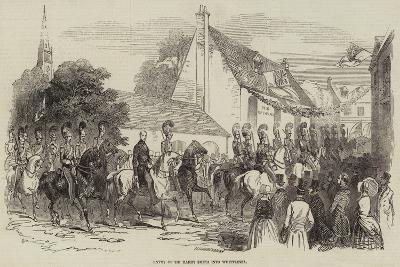 Entry of Sir Harry Smith into Whittlesea--Giclee Print