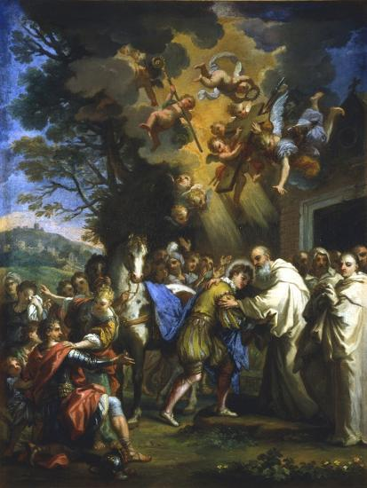 Entry of St Bernard into the City, C1630-1679--Giclee Print