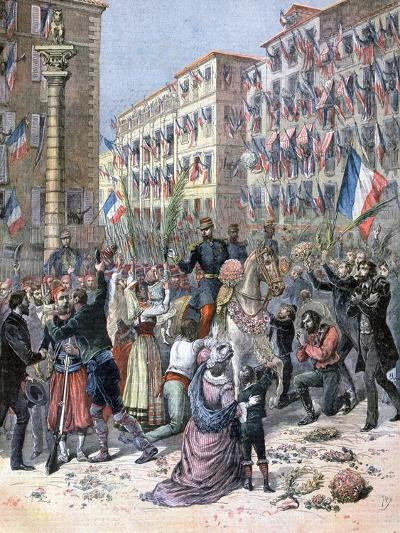 Entry of the French into Milan, 8th June 1859-Henri Meyer-Giclee Print