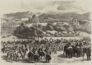 Entry of the Governor-General of India into Peshawur